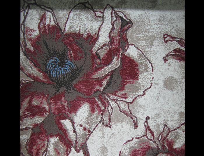 威尔顿块毯经典MDF8017红花
