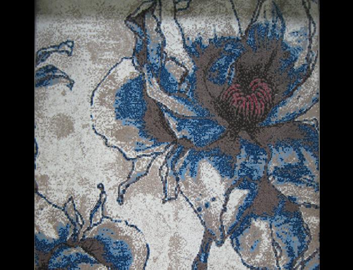威尔顿块毯经典MDF8017兰花